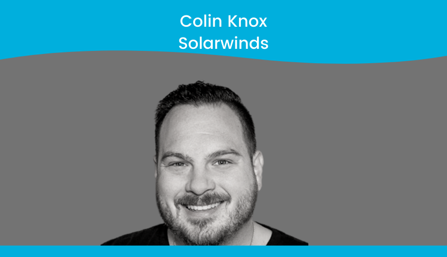 Colin Knox – Solarwinds – Culture Title Slide