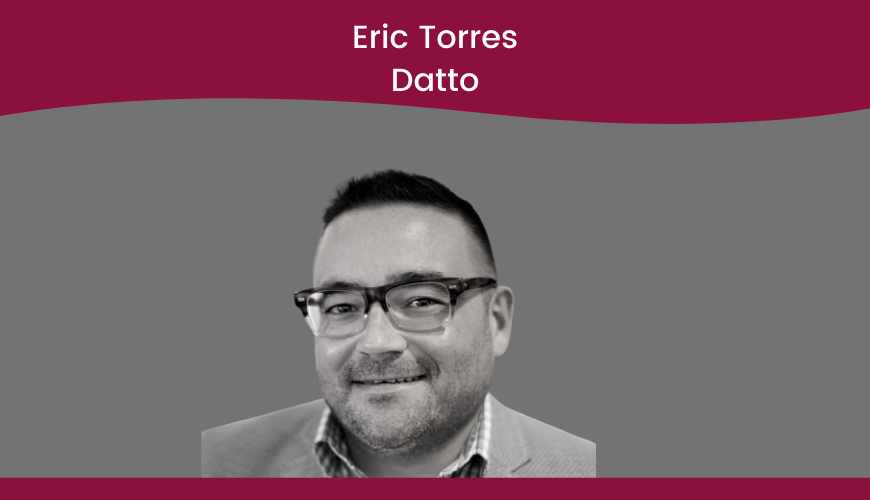 Eric Torres – Datto – Security Title Slide