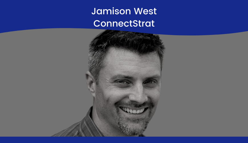 Jamison West – Connectstrat – Strategy Title Slide