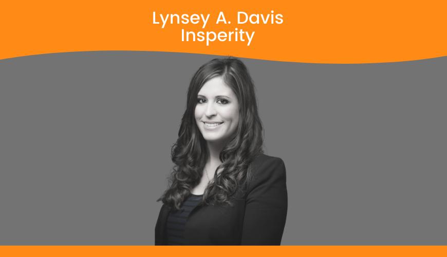 Lynsey A Davis, Sr. HR Specialist, Insperity